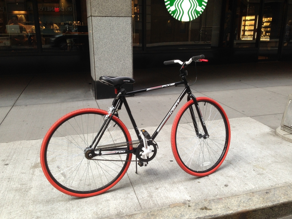 Simple NYC Style Commuter Bike