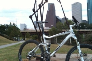 Full suspension mountain bike in Zilker Neighborhood